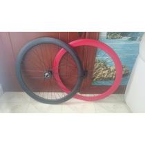 Rines Armados 50mm Contrapedal Bicicleta Fixie (rayos Color)
