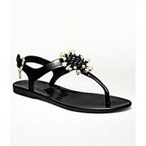 Zapatos Sandalias Coach Hilda Flor Cristales 100% Originales