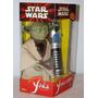 Star Wars Yoda Interactivo & Sable De Luz New Año 2000 Sale!