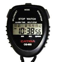 Cronometro Deportivo Digital Catiga Reloj Alarma 1/100s