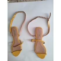 Sandalias Piel Estoperoles Zara Y Doradas Étnicas