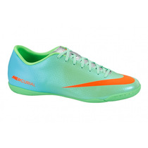 Nike Futbol Mercurial Victory Iv Ic Indoor Niño Verde