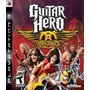 Guitar Hero Aerosmith - Playstation 3 Blakhelmet C