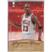 2007-08 Fleer Hot Prospects Supreme Court Michael Jordan Chi