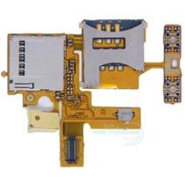 Cable Flexor Sony W380 De Sim, Memoria Sd, Flex Original Pm0
