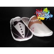 Pantuflas Xv Años Bodas Baby Shower Hotelera Promocional