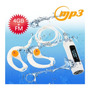 Reproductor Mp3 Con Pantalla Led 4gb Contra Agua Sumergible