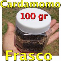 Cardamomo Frasco Con 100 Gramos