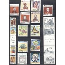 Treinta Y Tres Timbres Ordinarios De Los Años 1983