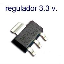 50 Pzs Regulador De Voltaje Ams1117 3.3 Volts