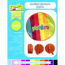 Mochila Personalizada Circular Lonchera Dulcero Fiesta