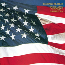 Leonard Slatkin: The American Album. Cd 1ra Ed 1991 Made Usa