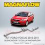Kit Magnaflow Ford Focus 2010 - 2011 Mofle Y Colilla