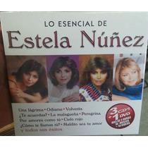 Lo Esencial De Estela Nuñez. 3 Cd´s + 1 Dvd. Nuevo.