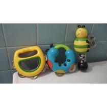 2 Panderos 1 Sonaja Para Niños Parents Instrumentos Pm0
