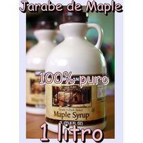 Jarabe De Maple O Arce Puro De Canadá Helado Waffle Hotcake