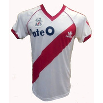 Playera River Plate Adidas Retro 86 Beto Alonso #10 Estampa