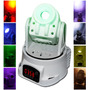 Luz Disco Led Cabeza Movil Multiples Gobos 2013 Dmx Audiorit