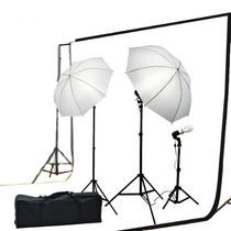Estudio Fotografico, Kit De Iluminacion Y Sombrillas