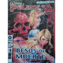 La Novela Policiaca #2412, Besos De Muerte,ed Niesa