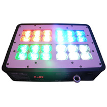 Panel Barra Led 24 X 3w Rgb Efecto Multicolor Estrobo Dmx*