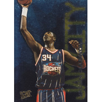 1995-96 Fleer Ultra Jam City Hakeem Olajuwon Rockets