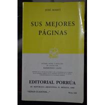 Sus Mejores Páginas, José Martí
