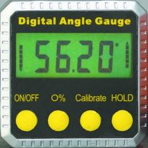 Inclinometro Digital Profesional Base Iman Angulo Escuadra