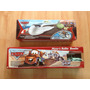 Set 2 Disney Pixar Cars Mate Tren Espia Y Bowling Boliche