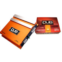 Amplificador Dub By Audiobahn 1500w 2ch Para Woofers Bocinas