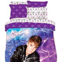 Edredon Justin Bieber Star Burst Individual Con Funda Pm0