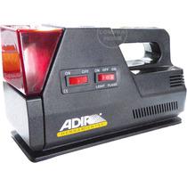 Compresor Auto Calibrador Linterna Flash 12v Portátil 4 En 1