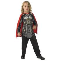 Thor Vestuario - Hombres Medio 5-6 Años Oficial Marvel 2