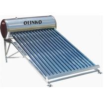 Calentador Solar Boiler Para 4 Personas 15 Tubos 150l