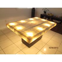 Comedor De Onix Piña De 1.50 X 1.00 Mtro. Con Iluminación