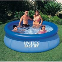 Wow Alberca Intex 2.44m X 76cm Easy Set Sin Bomba Y Filtro