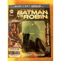 Batman Vs. Robin Steelbook Target/best Buy Blu Ray Exclusivo
