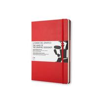 Libro Hand Of The Graphic Designer Rojo Moleskine