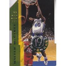 1996 Score Board Dc Rookie Walter Mccarty Knicks