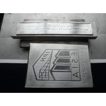 Placas En Acero Y Zinc Para Grabado Realzado O Hot Stamping