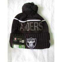 Gorro Bonete Nfl 100% Original Raiders De Oakland