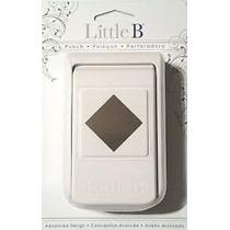 Scrapbook Little B Perforadora Diamante O Cuadro Papel 92 Lb
