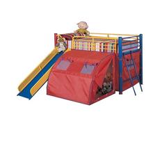 Cama Infantil Literas Con Toldo Tienda De Campaña Pm0