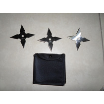 Paquete De 3 Estrellas Ninja O Shuriken
