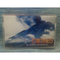 Álbum Formato Cassette Caifanes El Nervio Del Volcán
