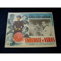 Enredate Y Veras Antonio Badu Lobby Card Cartel Poster