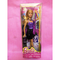 Barbie Rockstar Quiero Ser Guitarra Morada Nueva No Clones