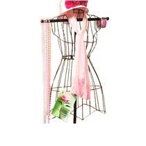 Maniquí Para Decoracion Alambre Vestido Mujer Op4