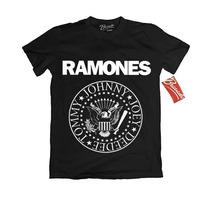 Playera Ramones Oficial Rock Tallas Original Grupos Punk