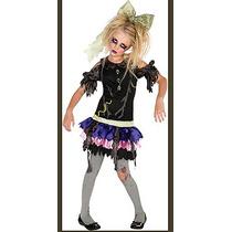 Zombie Costume - Muñeca Medio Terror Fantasía Del Vestido